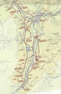 Die Südtiroler Weinstraße auf einen Blick