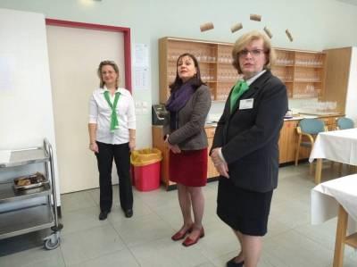 v.l.: Dipl. Päd. Barbara Koch,  Fachvorständin Dipl.-Päd. Andrea Krieger  und  Dipl. Päd. Gerlinde Burghardt