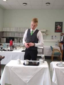 Kaffeezubereitung in der Karlsbader Kanne