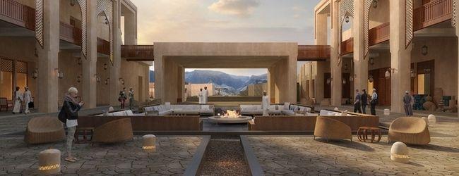 Das Anantara Jabal Al Akhdar Resort im Oman
