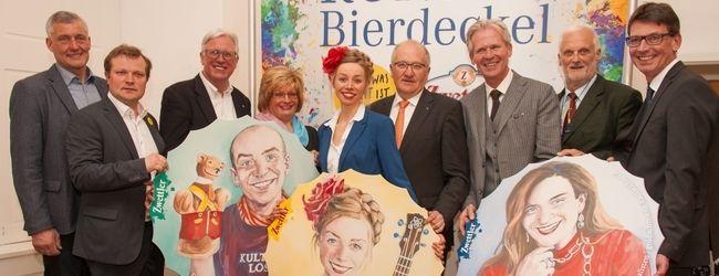 v.l.: Karl Höfer; Mag. (FH) Andreas Schwarzinger, Mag. Carl Aigner, Margit Straßhofer, Stephanie Balih, Karl Moser, Karl Schwarz, Dr. Michael Widermann und Guido Wirth.