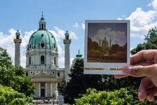 Einzigartige Fototouren durch Wien mit originalen Polaroidkameras