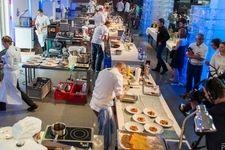 Christopher Zeiner und Christoph Pichler (HLW10) beim Koch des Jahres Wien