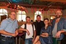 Bart Felix, Peter Eichberger, Tim Mälzer, Barbara Eichberger, Patrick Rüther