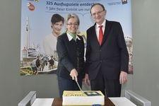 10 Jahre Niederösterreich-CARD (Dr. Petra Bohuslav und Mag. Klaus Buchleitner)