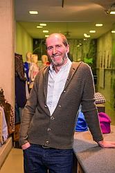 Andreas Toferer, Geschäftsführer Toferer Textil