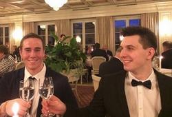 Die Top Lehrlinge beim Gala Diner