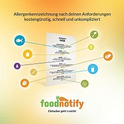 Food Notify und Allergenkennzeichnung