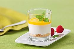Mini-Joghurt-Mango-Parfait-Törtchen