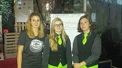 v.l.: Anna-Lena Gaßner, Michaela Makešova und Iris Mori