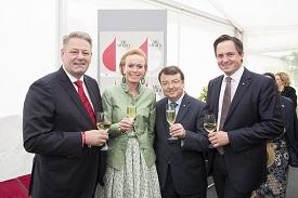 BM Rupprechter, Mag. Graski-Hoffmann, Mag. Willi Klinger und Abg.z.NR Schmuckenschlager