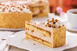 Gebrannte Mandel Torte