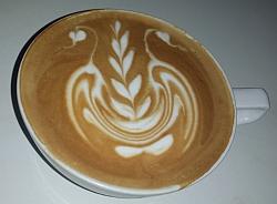2. Motiv im Latte Art Battle