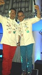 Miguel Contreras und Marcus Hannig
